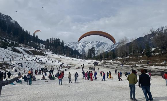 Romantic Chandigarh To Shimla Manali Taxi Package