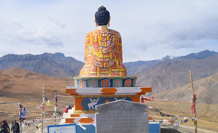 Giant Buddha, Langza